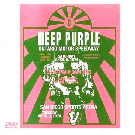 DEEP PURPLE 2xCD+DVD Complete California Jam (Deluxe Edition Digipack)