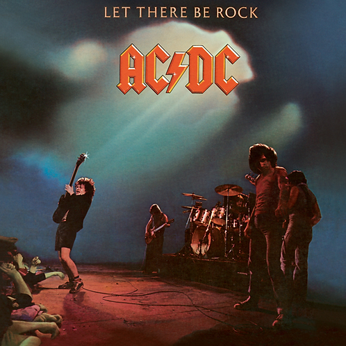 AC/DC LP Let There Be Rock