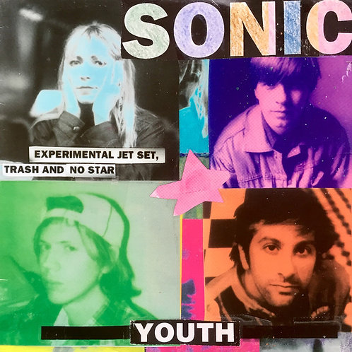 SONIC YOUTH LP Experimental Jet Set, Trash And No Star