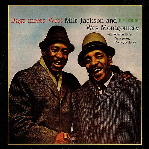 MILT JACKSON AND WES MONTGOMERY CD Bags Meets Wes! (Digipack)
