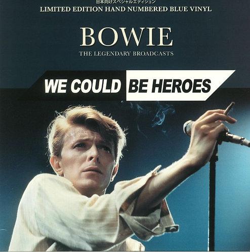 DAVID BOWIE LP We Could Be Heroes (Blue Coloured Vinyl)