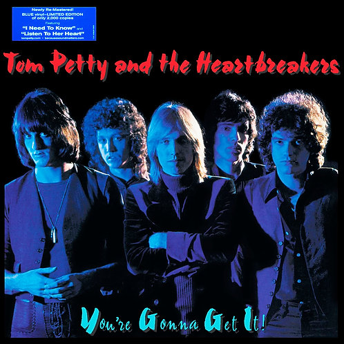 TOM PETTY AND THE HEARTBREAKERS LP You're Gonna Get It! (Blue Coloured Vinyl)