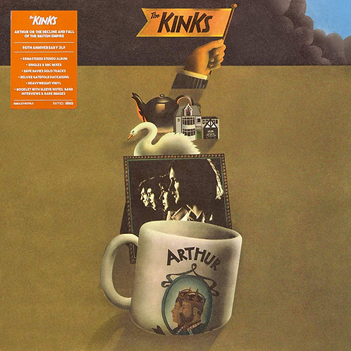 THE KINKS 2xLP Arthur Or The Decline And Fall Of The British (50th Anniversary)