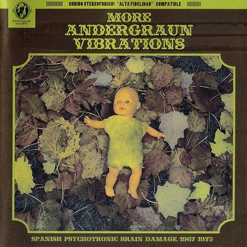 VARIOS CD More Andergraun Vibrations Spanish Psychotronic Brain Damage 1967-1975