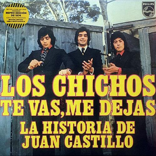 """LOS CHICHOS 7"""" Te Vas, Me Dejas / La Historia De Juan Castillo (RSD 2020 Local)"""