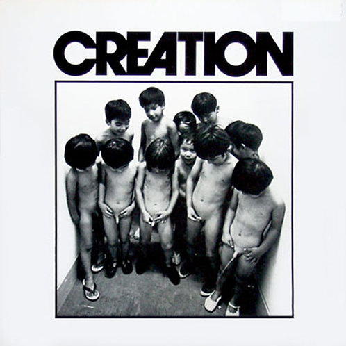 CREATION LP Creation (Censored Cover) Japan 1975