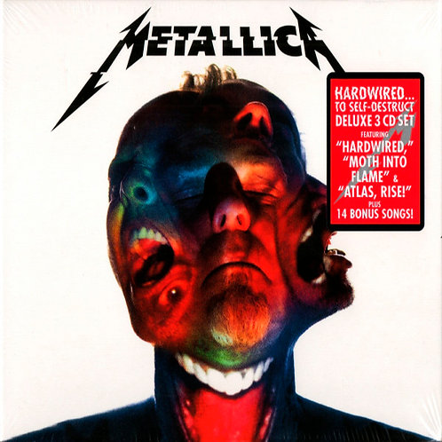 METALLICA 3xCD Hardwired...To Self-Destruct (Deluxe Edition)
