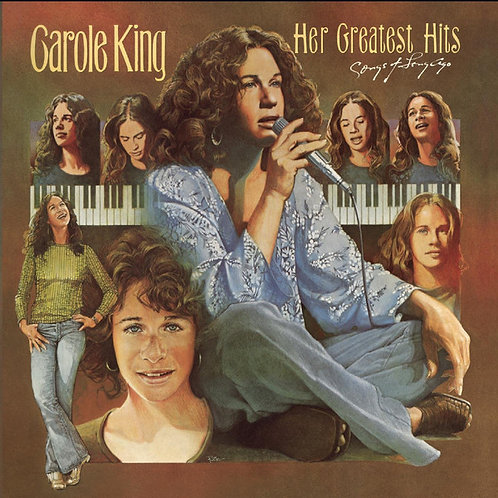 CAROLE KING LP Her Greatest Hits (Songs Of Long Ago)
