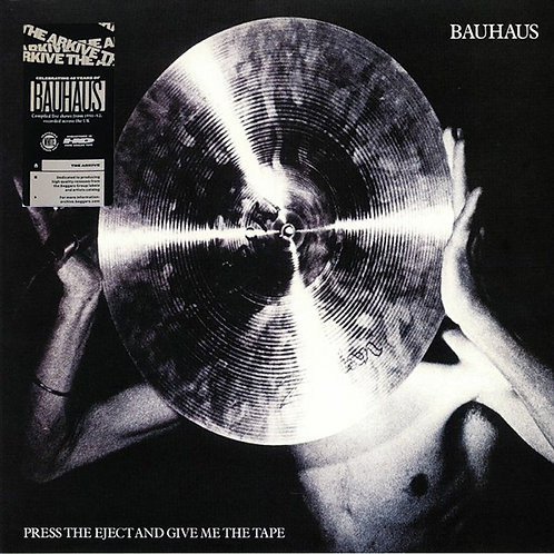 BAUHAUS LP Press The Eject And Give Me The Tape (White Coloured VInyl)