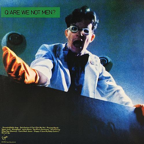 DEVO LP Q: Are We Not Men? A: We Are Devo! (Green Coloured Vinyl)