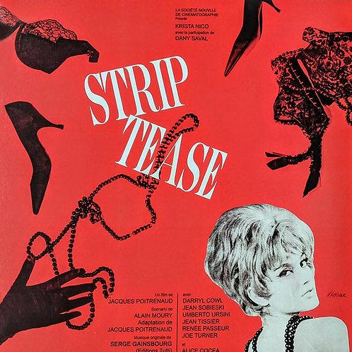 SERGE GAINSBOURG LP Strip-Tease (Red Coloured Vinyl)
