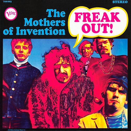 FRANK ZAPPA AND THE MOTHERS OF INVENTION LP Freak Out!