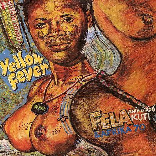 FELA KUTI & AFRICA 70 LP Yellow Fever