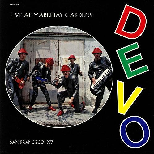 DEVO LP Live At Mabuhay Gardens - San Francisco 1977
