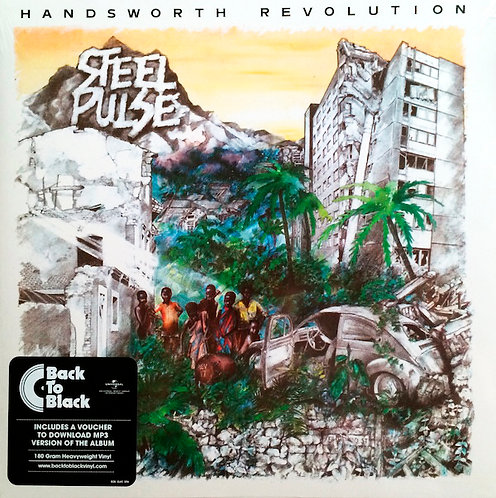 STEEL PULSE LP Handsworth Revolution