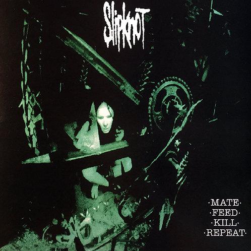 SLIPKNOT LP Mate. Feed. Kill. Repeat. (Transparent Green Coloured Vinyl)