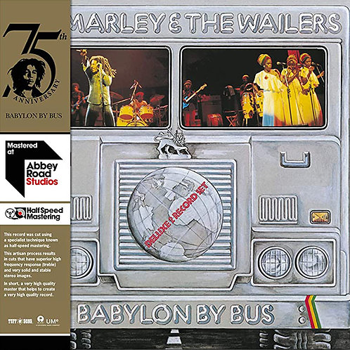 BOB MARLEY & THE WAILERS 2xLP Babylon By Bus (Half Speed Mastering)