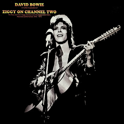 DAVID BOWIE LP Ziggy On Channel Two