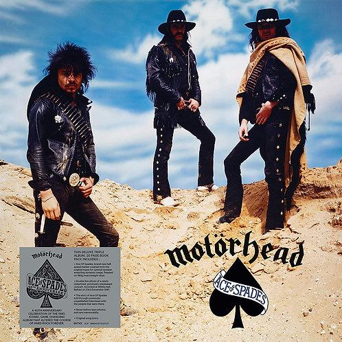 MOTORHEAD 3xLP Ace Of Spades (40th Anniversary Deluxe Edition)