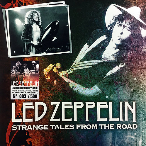 LED ZEPPELIN LP STRANGE TALES FROM THE ROAD (Green Fluo Coloured Numbered Vinyl)