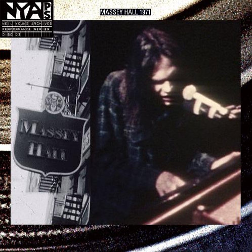 NEIL YOUNG CD Live At Massey Hall 1971 HDCD