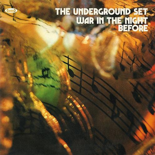 THE UNDERGROUND SET LP War In The Night Before (Orange Coloured Vinyl)