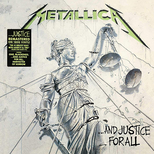 METALLICA 2xLP And Justice For All (Remastered)