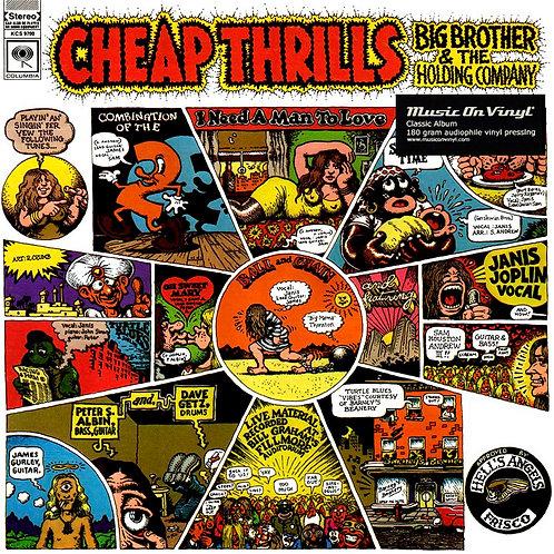 JANIS JOPLIN LP Cheap Thrills (180 gram audiophile vinyl)
