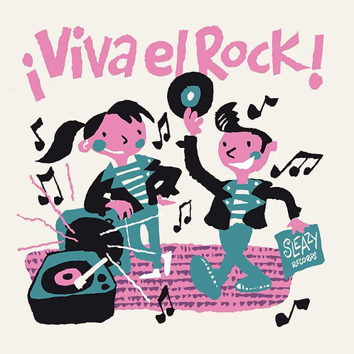 VARIOUS LP+CD Viva el Rock! (con Juego Recortable)