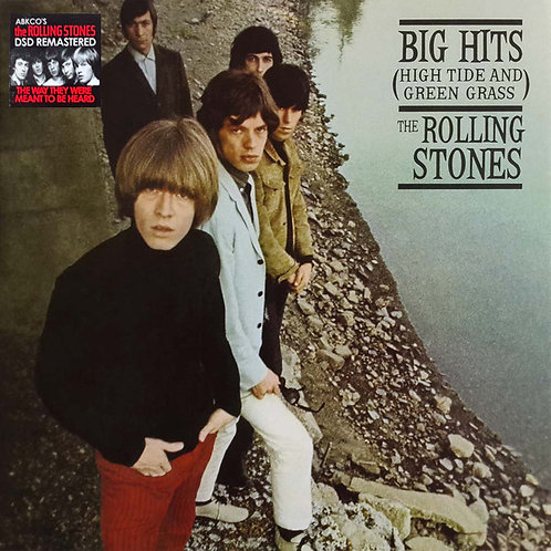 ROLLING STONES LP Big Hits (High Tide And Green Grass) (DSD Remastered)
