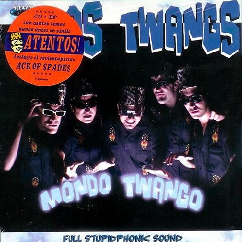 """LOS TWANGS 7""""+CD Mondo Twango (Second Edition)"""