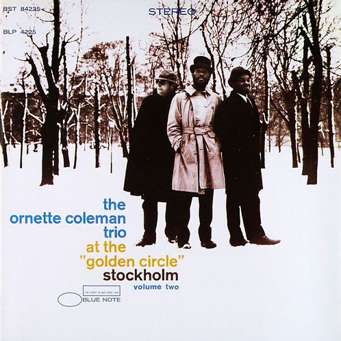 """ORNETTE COLEMAN CD At The """"Golden Circle"""" Stockholm - Volume Two (RVG Remasters)"""