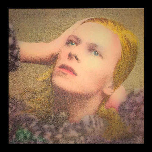DAVID BOWIE LP Hunky Dory (USA Reissue With Insert)