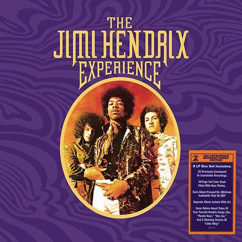 "JIMI HENDRIX BOX SET 8xLP The Jimi Hendrix Experience aka ""Purple Box"""