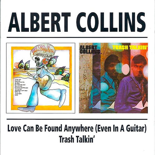 ALBERT COLLINS CD Love Can Be Found Anywhere