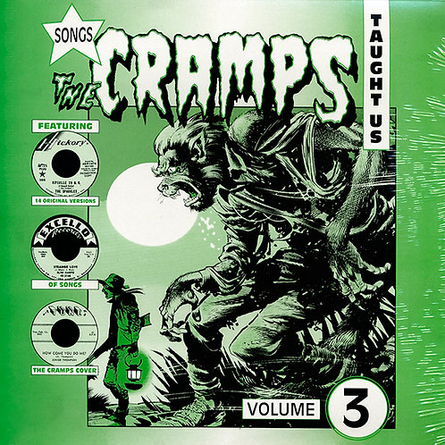 VARIOS LP Songs The Cramps Taught Us Volume 3
