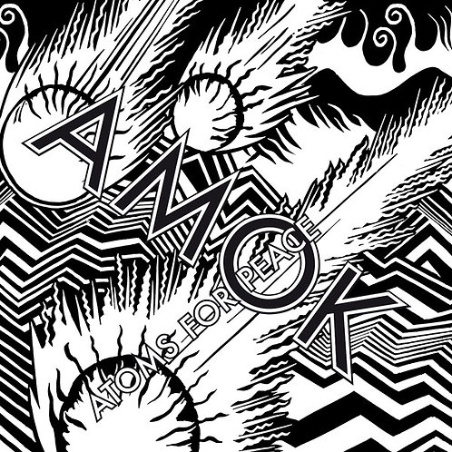 ATOMS FOR PEACE 2xLP+CD Amok (Radiohead)