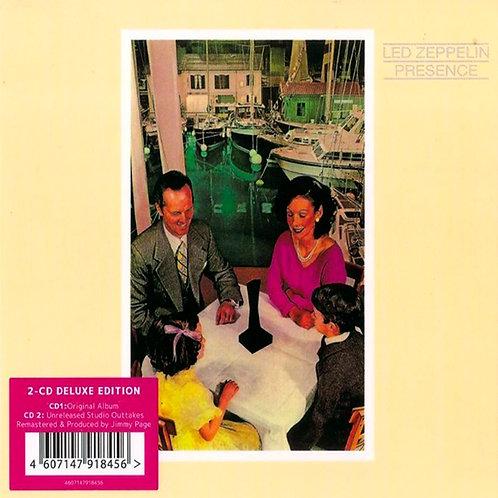 LED ZEPPELIN 2xCD Presence (Deluxe Digipack + Bonus Tracks)