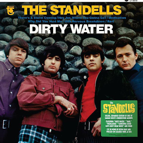 THE STANDELLS ‎LP Dirty Water Remastered & Expanded (Gold Coloured Vinyl)