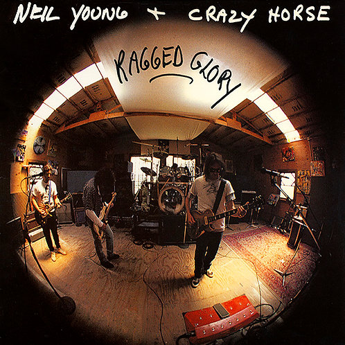NEIL YOUNG + CRAZY HORSE LP Ragged Glory (Red Coloured Vinyl)