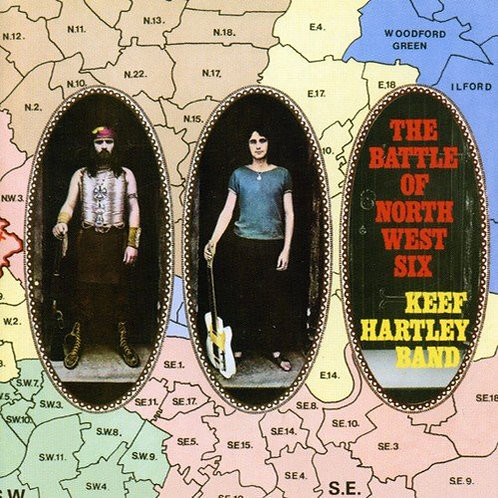 KEEF HARTLEY BAND CD Battle Of North West Six