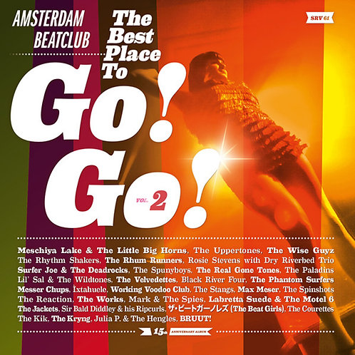 VARIOUS 2xLP Amsterdam Beatclub: The Best Place To Go! Go! 2