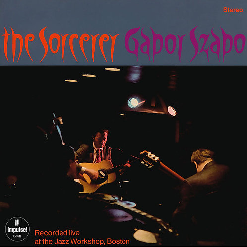 GABOR SZABO LP The Sorcerer