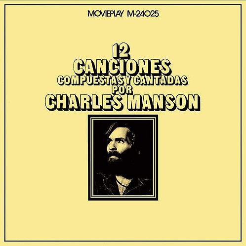 CHARLES MANSON LP 12 Canciones Compuestas Y Cantadas Por Charles Manson
