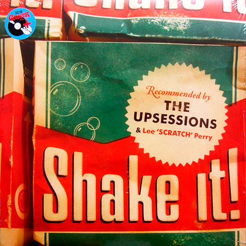 THE UPSESSIONS & LEE SCRATCH PERRY LP+CD Shake It!