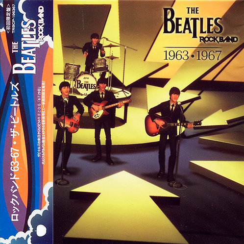 BEATLES CD Rockband 1963-1967 (Japan)