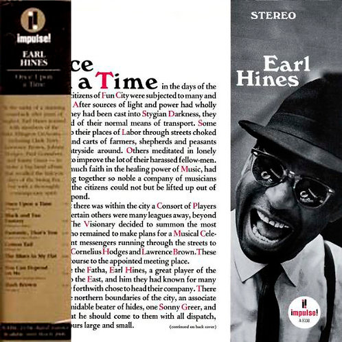 EARL HINES CD Once Upon A Time