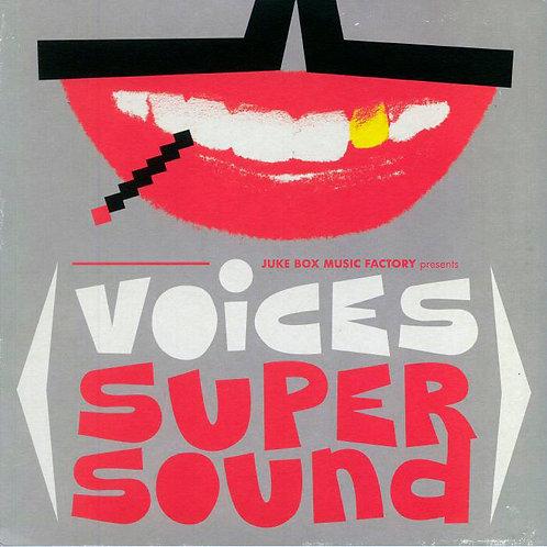 VARIOS LP+CD Voices Super Sound