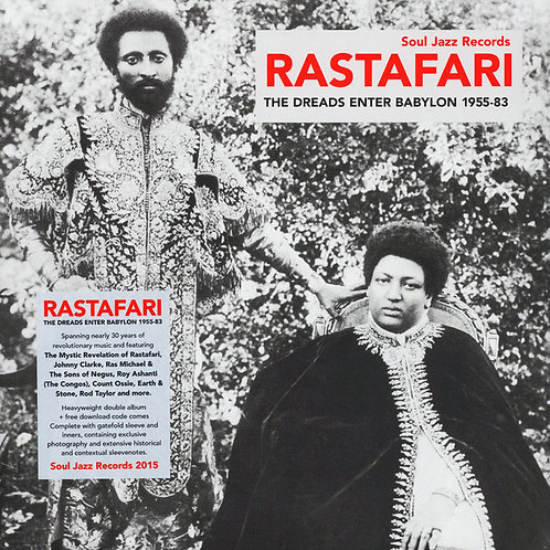 VARIOUS 2xLP Rastafari (The Dreads Enter Babylon 1955-83)