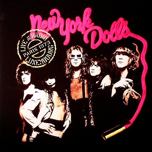 NEW YORK DOLLS LP Live At Radio Luxembourg, Paris - Dec. 1973